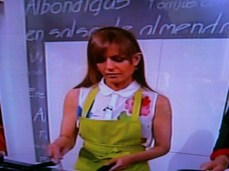 Marsilka en tve2 cocinando con sergio 4 mayo 2013 for Cocinando con sergio en la1