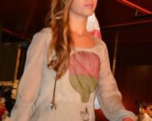 Blusa seda con Globo