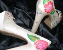 zapatos seda pintados a mano2