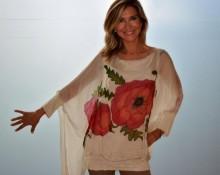 blusa vestido amapolas