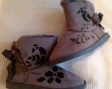 botas grises Mardsilka