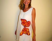 Marsilka Vestido Mariposa Monarca