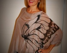blusa mariposa