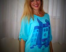 marsilka blusa azul ciudad